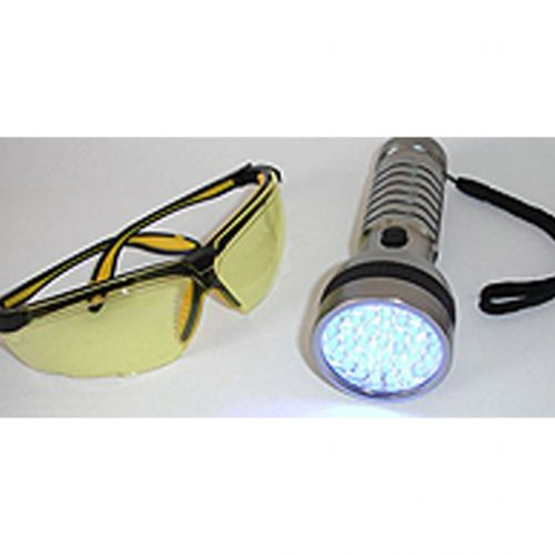 UV light source and goggles