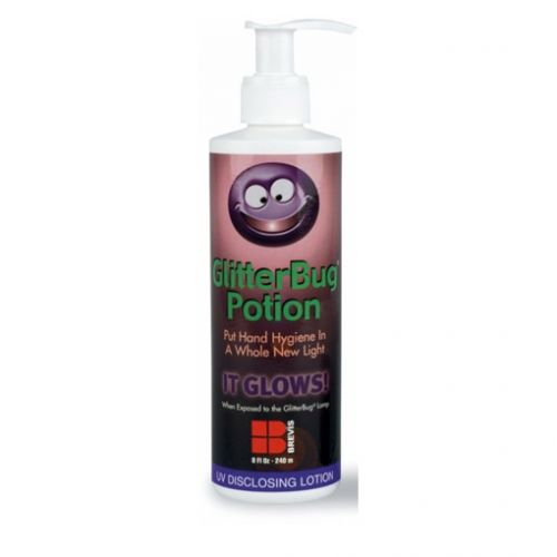 Glitterbug Lotion 240ml - Daro UV Systems - Hand Inspection Cabinets
